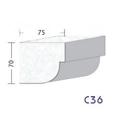 C36 - interiérne profily