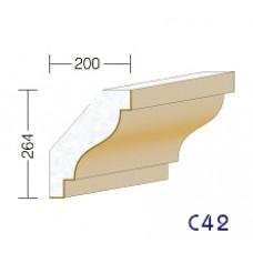 C42 - cornices