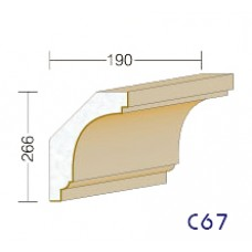 C67 - rímsy