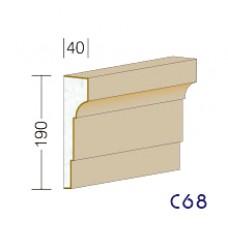 C68 - rímsy