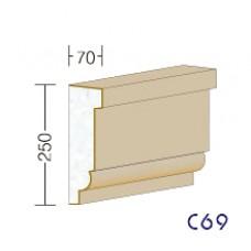 C69 - rímsy